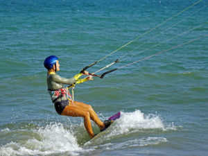 Riding-safely-kiteboarding