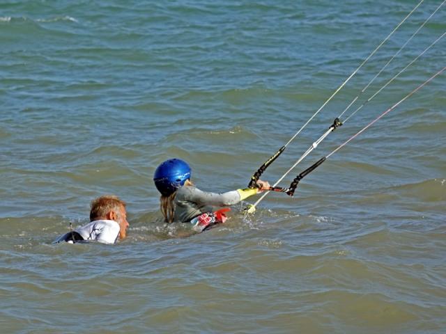 body drag techniques kiteboarding lessons