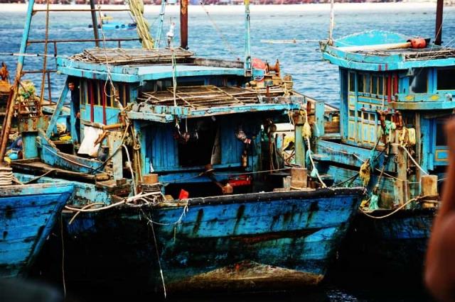 Vietnamese fishingboat