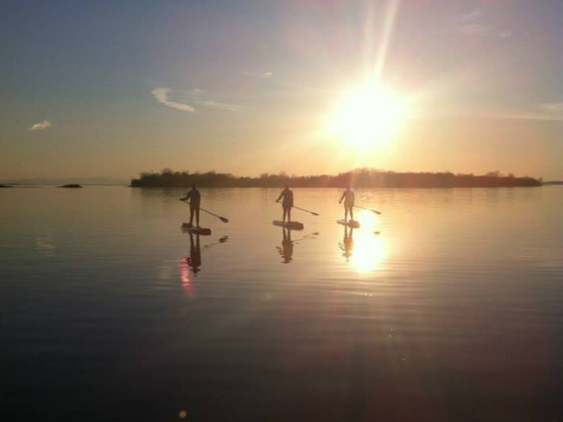 SUP tour around lake champlain
