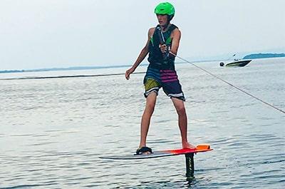 Foiling lessons lake champlain